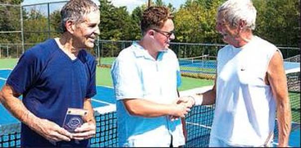 Jacobs, Arnold Win Rockbridge Tennis Doubles