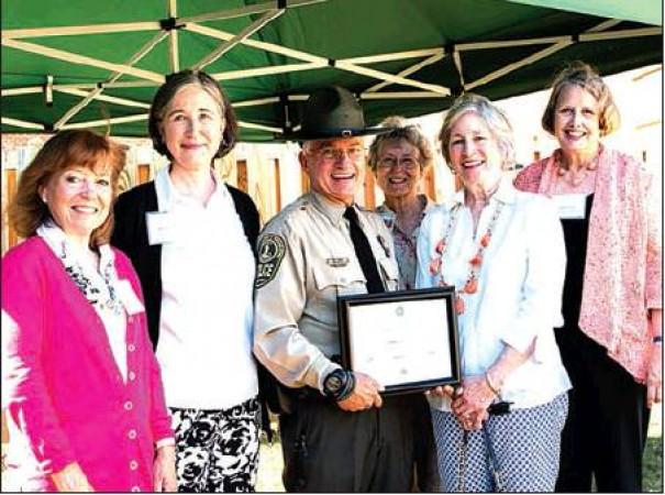 Garden Club Of Virginia Honors Jones