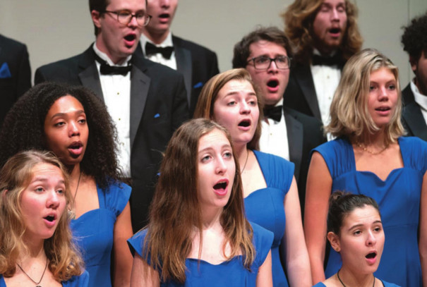 Choral Ensemble Readies Virtual Event