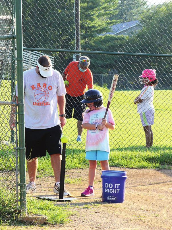 Socially Distanced Softball