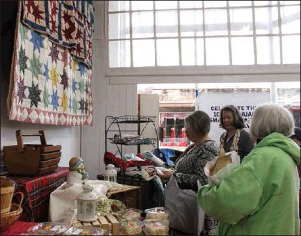 SHOPPERS check out the items for sale at Coiner Country Store in Buena Vista. (Stephanie Mikels Blevins photo)