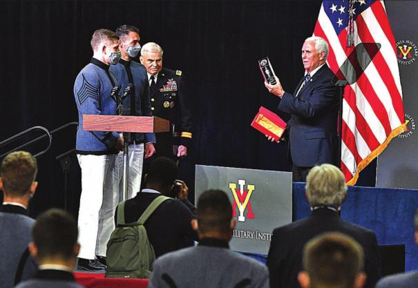Pence Talks Defense At VMI
