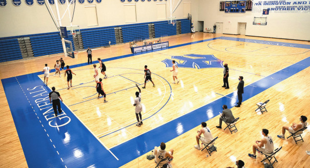 New Gym Sees First Action