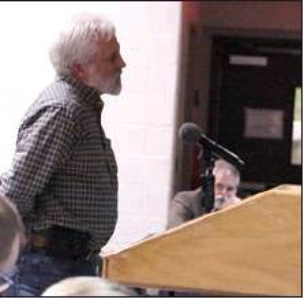 """ROBERT LUCAS told the Rockbridge County Board of Supervisors that lawmakers """"poked a bear's den and woke it up."""""""