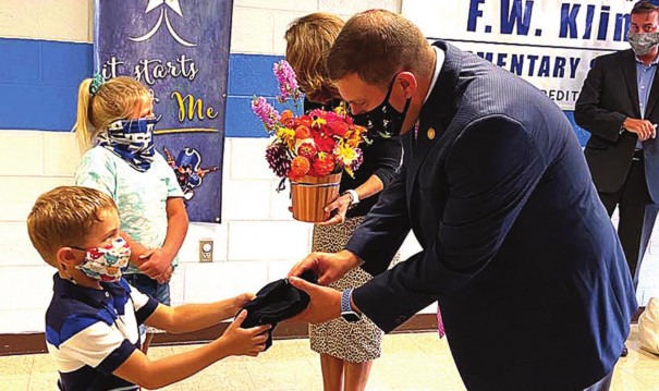 First Lady Visits Area Schools