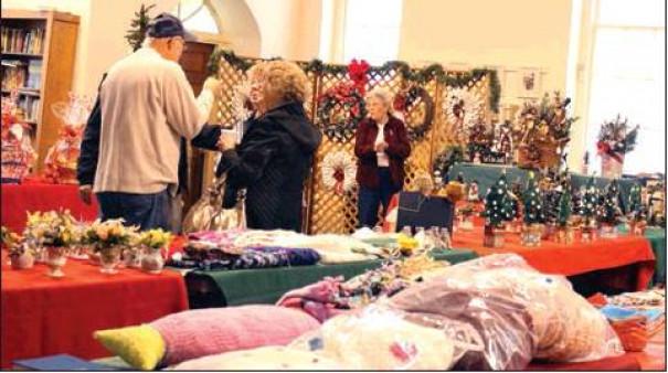 Bazaar At Stone Church
