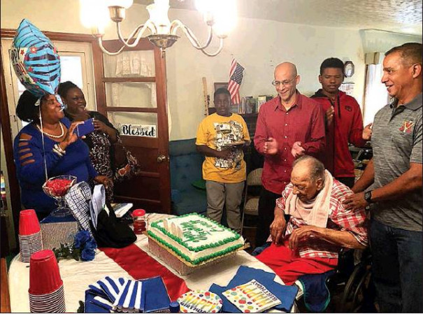 Family, Friends Help WWII Vet Mark 100 Years