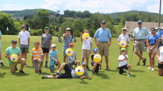 Youth Golf Camp Teaches Skills