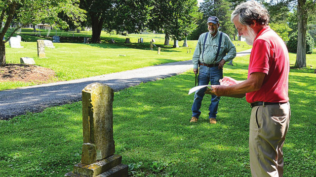 HLF To Begin Restoration Work In Evergreen Cemetery